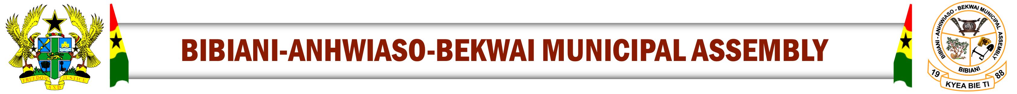 Bibiani Anhwiaso Bekwai Municipal Assembly Logo